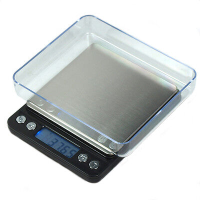 2000g x 0.1g  Digital Scale 0.1 gram Precision Scale for Jewelry Diet Shipping