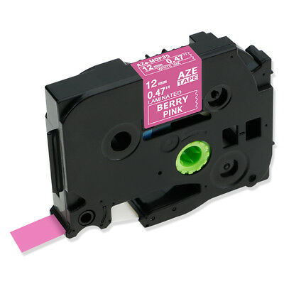Tze Tz-mqp35 Pink Compatible Brother Label Maker Tape P-touch Laminated 12mm