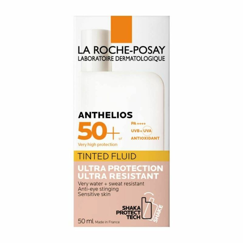La Roche-Posay ANTHELIOS SHAKA Fluid, TINTED Sunscreen SPF50+, 50ml