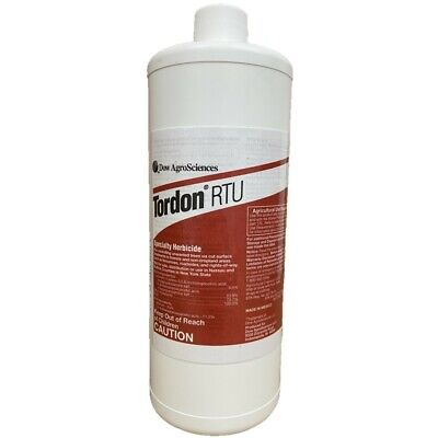 Tordon RTU 32oz- Picloram Herbicide Not for sale To: AK, CA, DC, FL, PR, RI CT