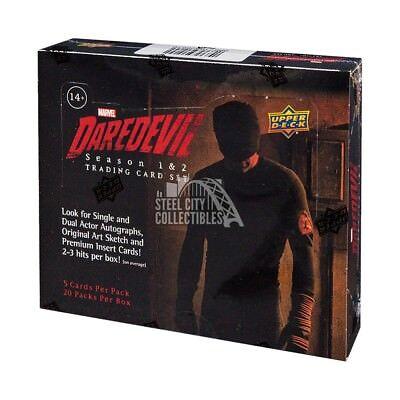 2018 Upper Deck Marvel Daredevil Hobby Box
