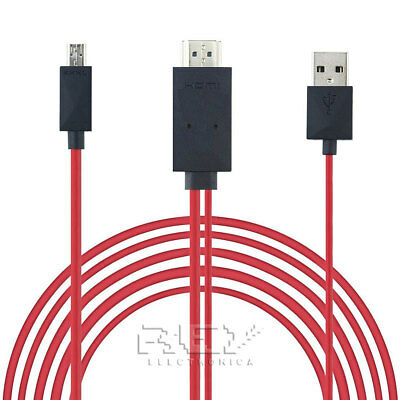 Cable MHL Micro USB a HDMI y USB, HDTV, Móvil TV ¡Desde...