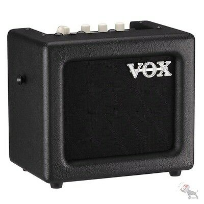 Vox MINI3 G2 Modeling Guitar Practice Amplifier 5-Inch Speaker Black w/ Effects