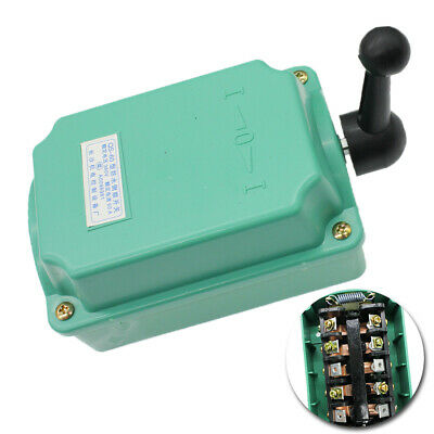 60a Green Drum Switch Forwardoffreverse Motor Control Rainproof Reversing Fast