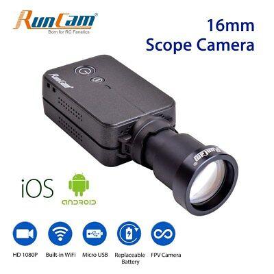 FPV Camera HD 1080P WiFi Camcorder Scope Recorder 16mm 180° Micro USB For Drone