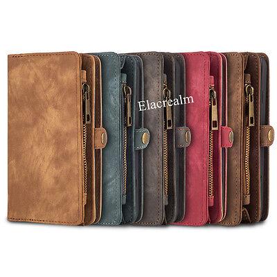 Luxury Premium Leather Flip Wallet Phone Case Cover for iPhone 6 6S 7 8 Plus