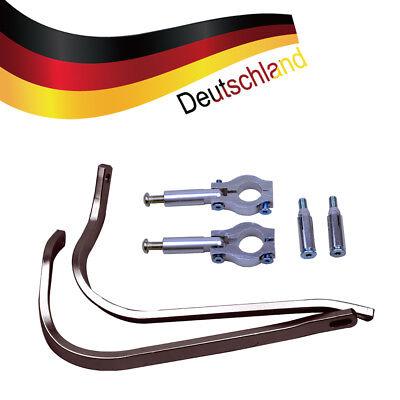 "22mm Universal Brush Bar Hand Schutz handguard für 7/8 ""Lenker Motorrad"