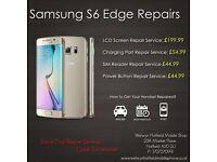 Samsung S7 Edge/S7/S6 Edge/S6/ S5/S4/Note 4/3/2LCD Screen Glass Digitiser Repair Service Hatfield