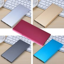 20000mAH Power Bank Slim External Battery Portable Mobile Phone Charger