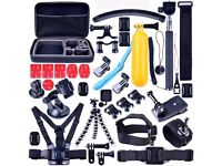 50 In 1 Accessories Mount Kit Bundle For GoPro Camera Hero