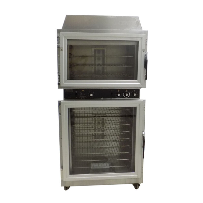 Duke AHP0-6/18 Stainless Bakery Bread Convection 3-Pan Oven / 9-Pan Proofer