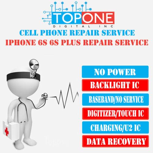 Iphone 6s 6s+ U2 Charging Ic Repair Service Turn Around Time 2-4 Business Days