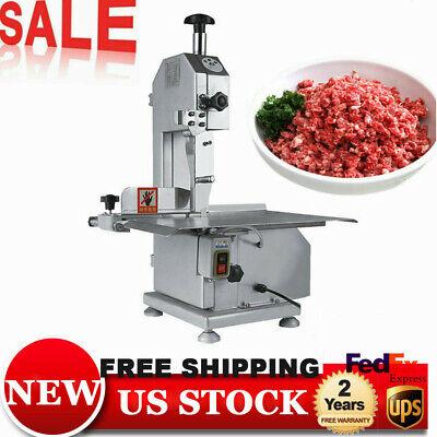 Commercial Electric Meat Band Saw Bone Saw Machine Heavy-duty Steak Cutting
