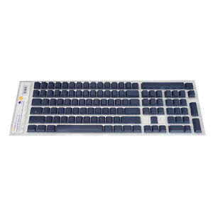 PBT-Keycap-Set-for-Cherry-MX-based-Leopold-Keyboard-Blank-Non-Printed-Navy