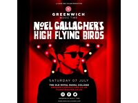 Front Block Noel Gallagher High Flying Birds Tickets Greenwich London 7/7/18