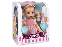 Luvabella Blonde Hair Doll, Brand New, Sealed