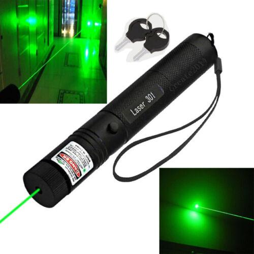 10 Mile Military 5MW 532NM Laser Pointer Pen Lazer Light Visible Beam Burn Zoom