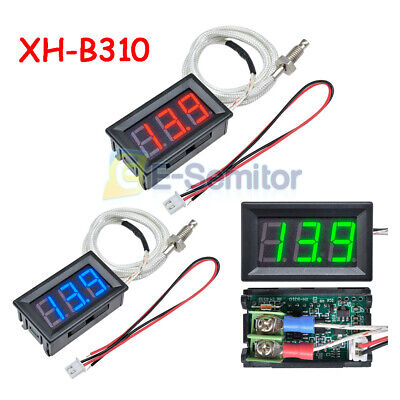 Digital Xh-b310 Industrial Thermometer 12v Temperature Meter K-type Thermocouple