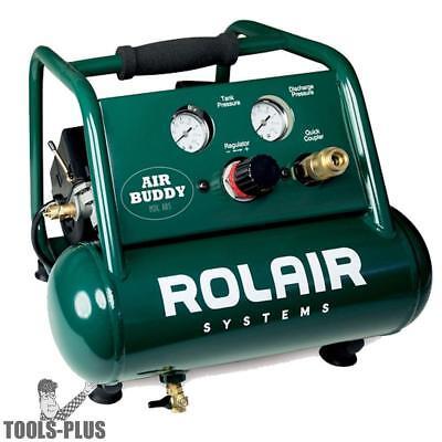 Rolair Ab5 12 Hp Air Buddy Super Quiet Oil-less Air Compressor New