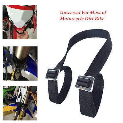 1pcs Universal Motorcycle Rescue Strap Pull Belt Tow Rope Dirt Pit Bike Helper