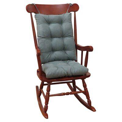 Klear Vu Twill Rocking Chair Pad Set, 17 x 17 x 3 inches, -