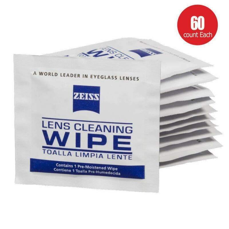Zeiss Pre-moistened Lens Cleaning Wipes 60 CT-Glasses Cameras Binoculars Optical