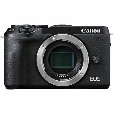 Canon M6 Mark II Body Only (Black) & FREE Sandisk 64GB SDXC *NEW*