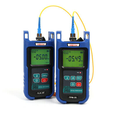 Fiber Optic Loss Set Optical Power Meter Tpm-35 Optical Light Source Tls-35