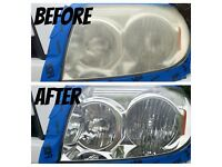 PROFESSIONAL HEADLIGHT RESTORATION(vw skoda audi ford vauxhall mercedes toyota and all others makes)