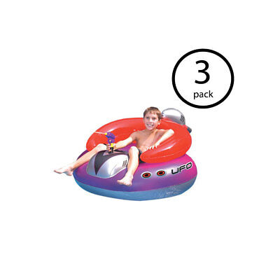 Yard, Garden & Outdoor Living 2 Game Stingray Pool Float Inflatable Ride On With Handles & Cup Holders Diversified In Packaging Pool Fun