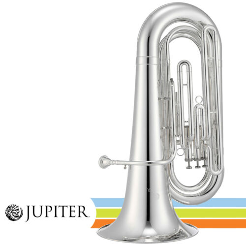 Jupiter Key of BBb Silver Plated Body Concert & Quantum Marching Tuba JTU1030MS