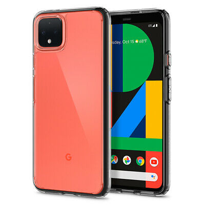 Google Pixel 4, Pixel 4 XL Case Spigen® [Ultra Hybrid] Clear Slim Cover