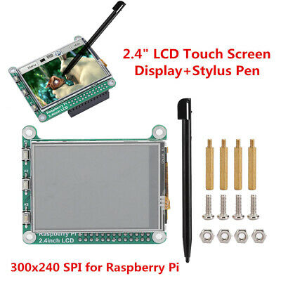 2.4tft Lcd Touch Screen Displaystylus 300x240 Spi Fr Raspberry Pi A Rpi3 B