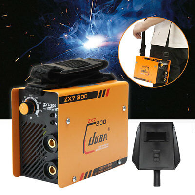 10200 A Mini Welder Mma Arc Welding Machine Dc Igbt Soldering Inverter Zx7-200