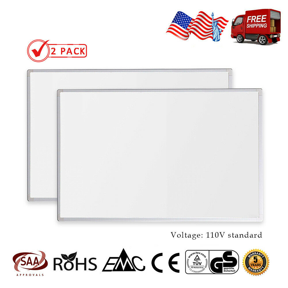 600W Electric Infrared Panel Heater Radiant Heating Panel En