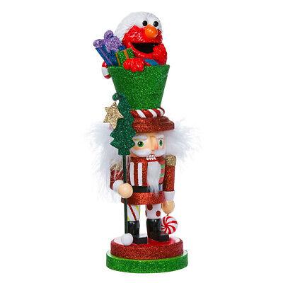 """[Kurt Adler - Sesame Street Elmo Hollywood Christmas Nutcracker 12"""" New SE6151L</Title]"""