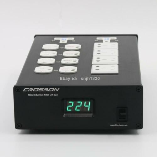 HIFI Audio Power Supply EMI Filter Purifierr 2000W Home US Socket AC Adapter