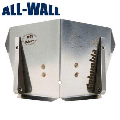 Columbia 3 Wide-track Standard Drywall Corner Flusher Wwheels Stainless Steel