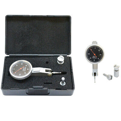 Black Face .008 Inch Dial Test Indicator .0001 Inch Graduation With Case