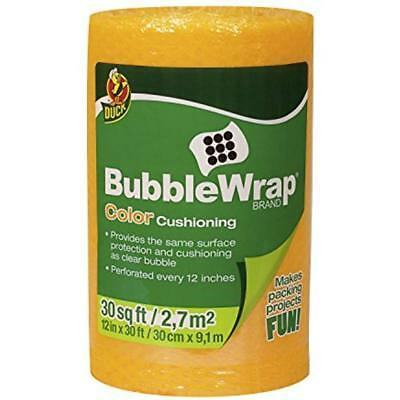 Brand Bubble Wrap Color Cushioning 12 Inches Wide X 30 Feet Long Single Roll