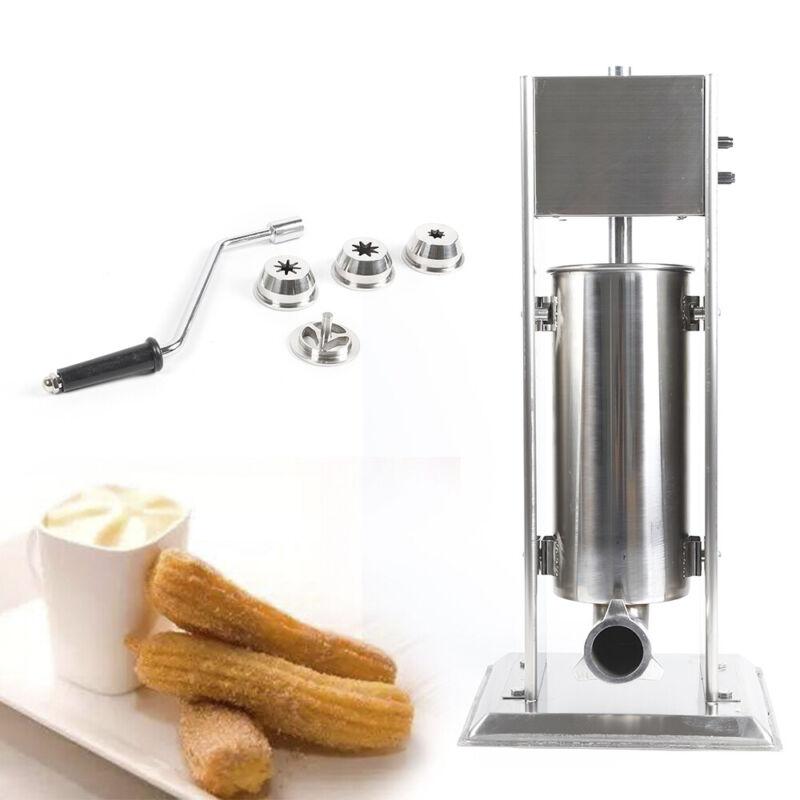 Manual 5L Latin Fruit Machine Vertical Spanish Churro Mini Donut Maker