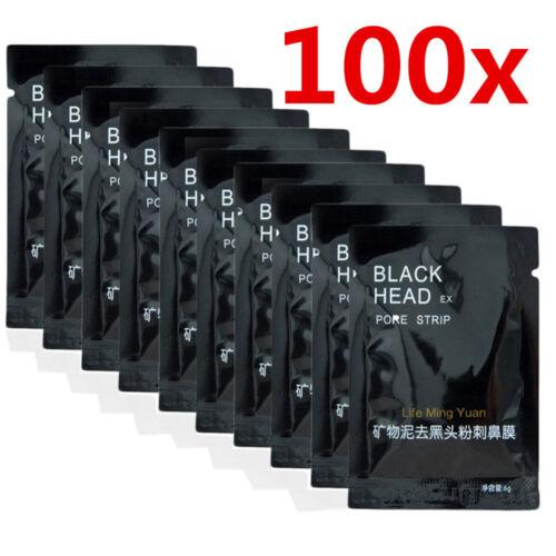 100 st ck black head peel off killer schwarze maske mask gesichtsmaske pickel ebay. Black Bedroom Furniture Sets. Home Design Ideas