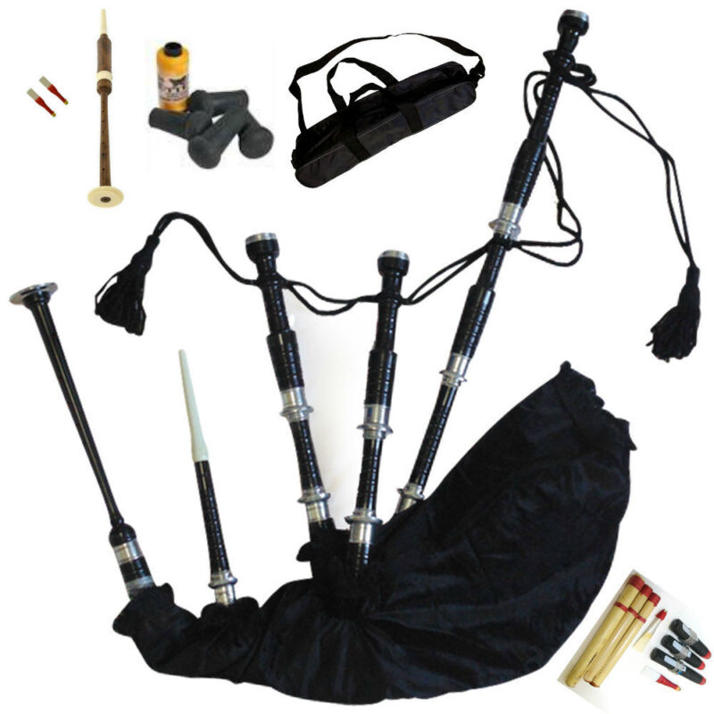Bagpipes Ready to play bagpipe full kit with Practice Chanter for beginner