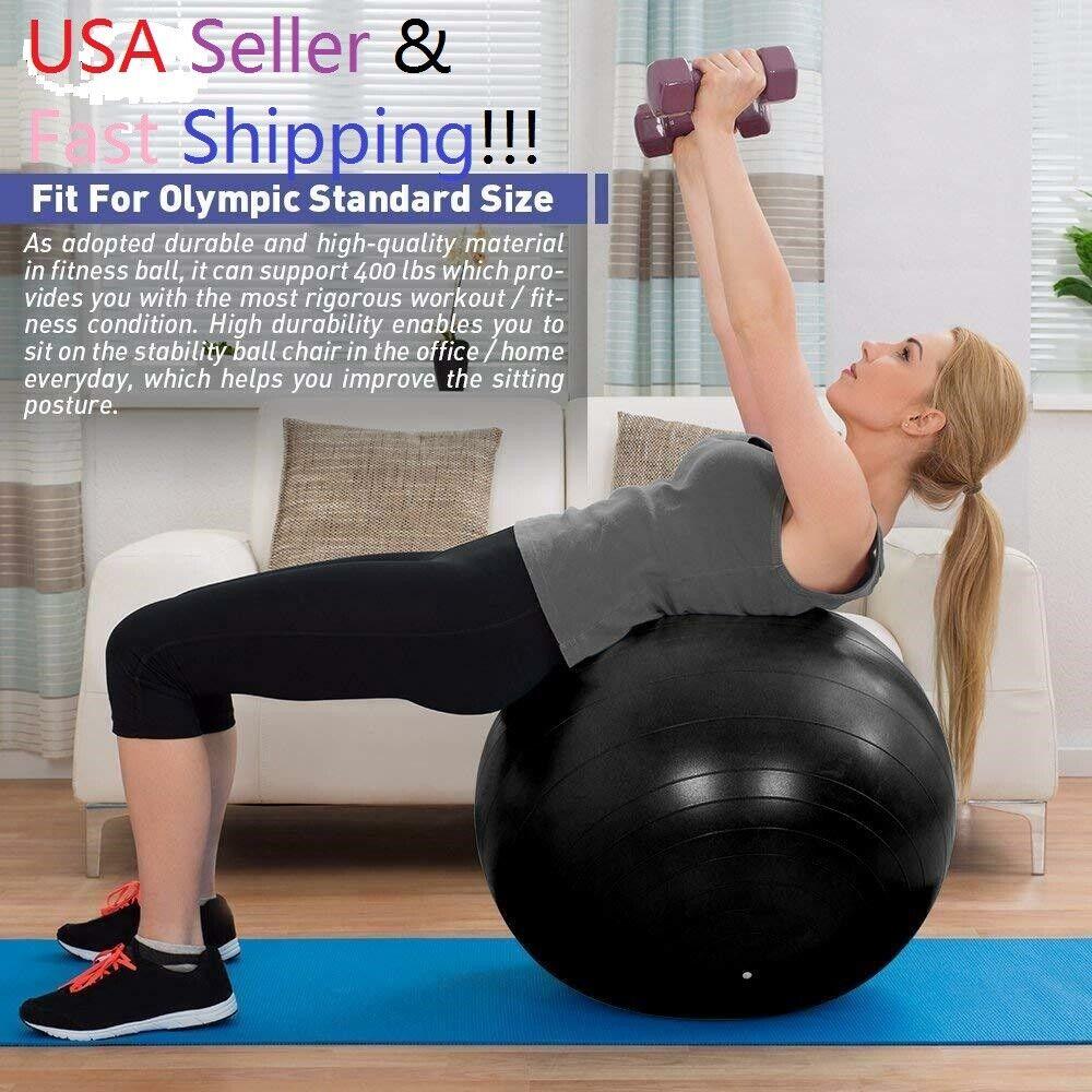 Exercise Workout Yoga Ball for Yoga Fitness Pilates Sculptin