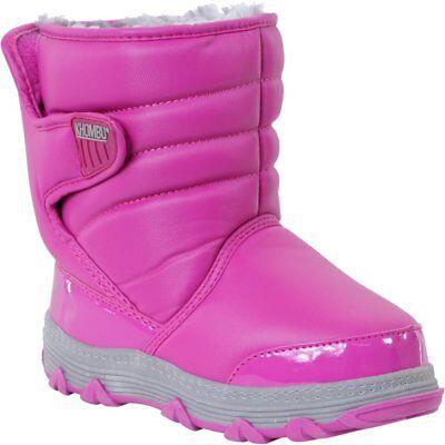 Khombu Juniper Winter Snow Boots w Thermolite Insoles - Size UK 4 - Fuchsia Pink