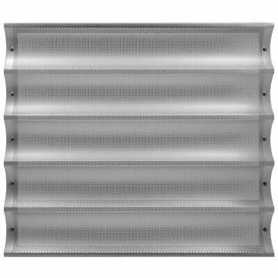 Hubert Baguette Pan Perforated Full Size Aluminum 5-long - 26 L X 3 W Loaf