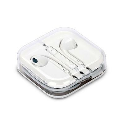 GENUINE APPLE MD827LL/A EARPODS EARPHONES HEADPHONES WITH INLINE MIC AND REMOTE