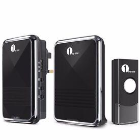 1byone Easy Chime Wireless Doorbell Door Chime Kit