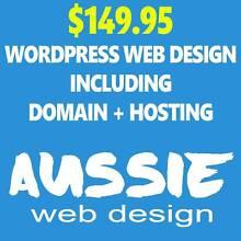 $149.95 WordPress Web Design inc Domain + Hosting Sydney City Inner Sydney Preview