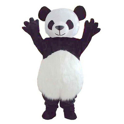 New Best Sale Cute Bear Panda Mascot Costume Adult Size Fancy Dress Party - Best Cute Halloween Costumes
